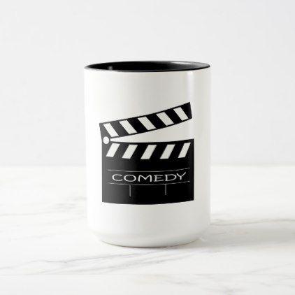 Action - comedy movie. mug - typography gifts unique custom diy