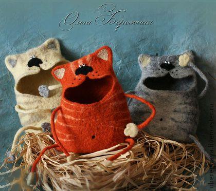 """Шкатулки ручной работы. Ярмарка Мастеров - ручная работа Шкатулка """"Мартовский кот"""". Handmade."""