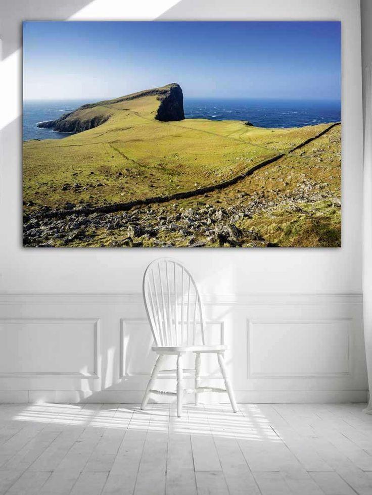 Pointe Écosse - Tableau frontière avec la mer
