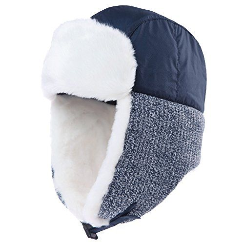76ffa6698ee Siggi Ladies Trapper Hat Aviator Earflap Hat Faux Fur War...  hat