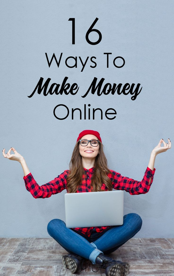 16 Ways to Make Money Online (and earn money from home) by Natalie Bacon