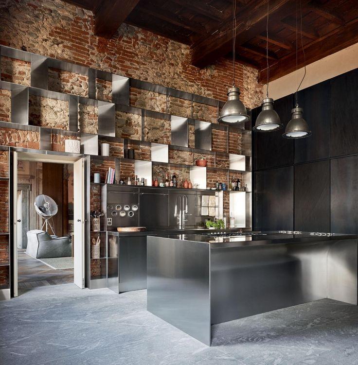 Pi di 25 fantastiche idee su mattoni a vista su pinterest - Mattoni per cucina ...