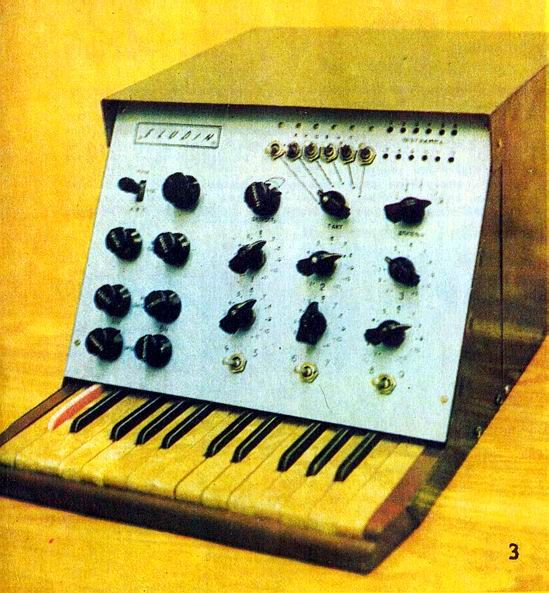 Eludin, soviet drum machine from 1976