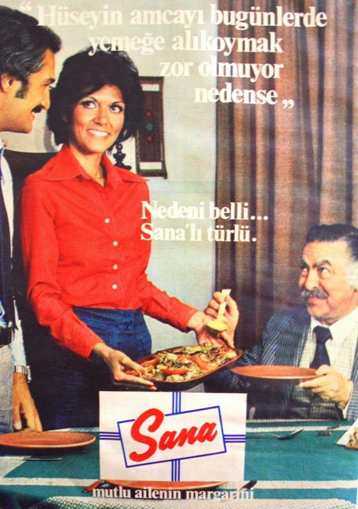OĞUZ TOPOĞLU : sana margarin 1975 nostaljik eski reklamlar