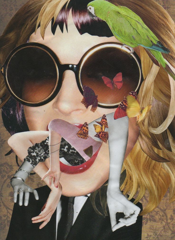 #Magazine #collage #art #abstract | Fun Inspo & Others ...