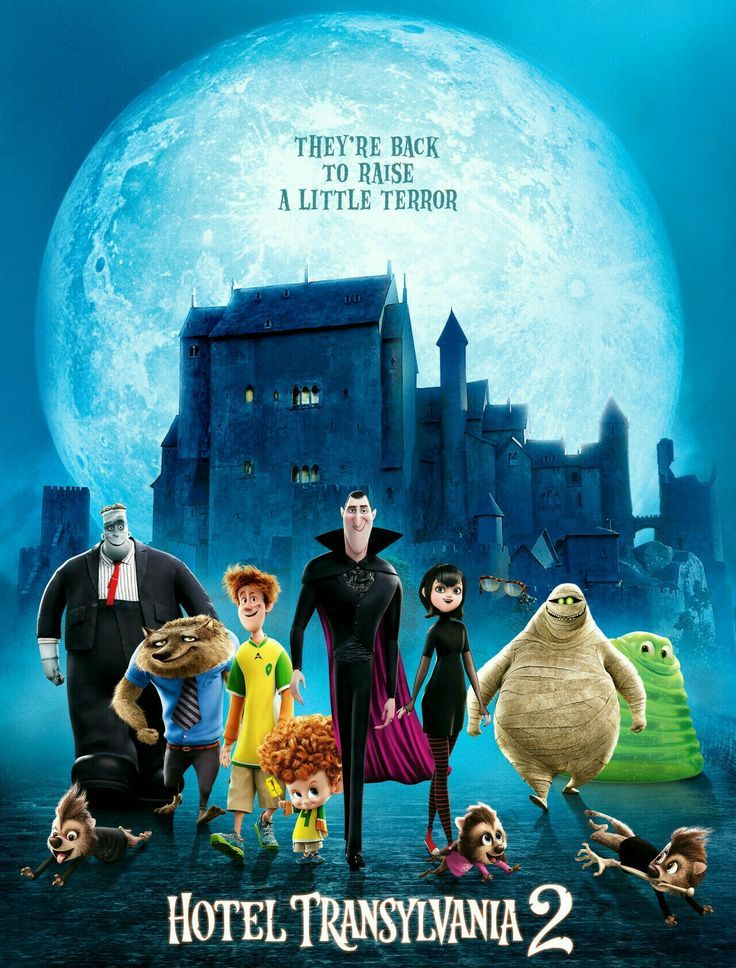 Hotel Transylvania 2 2015 Dual Audio Eng Hindi 480p Bluray