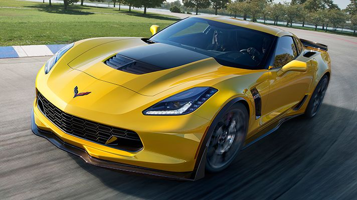 The Corvette Z06 is here, and it's fast