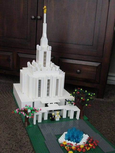 Lego temples
