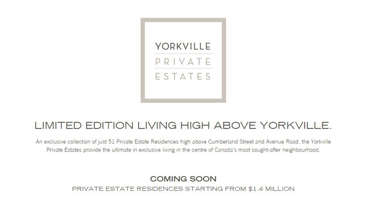Yorkville Private Estates condominium residency is efficient to impress you by its modern infrastructure and exotic location. It is specially designed with high technology as according to the demand of current era. If you are interested to invest, register today and get heavy discounts on purchasing your apartment. To know more, travel to the link.    #YorkvillePrivateEstates