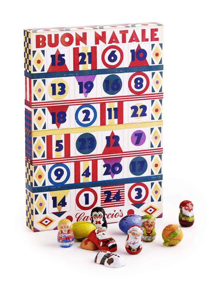 Carluccio's Advent Calendar - designed by Lucia Gaggiotti