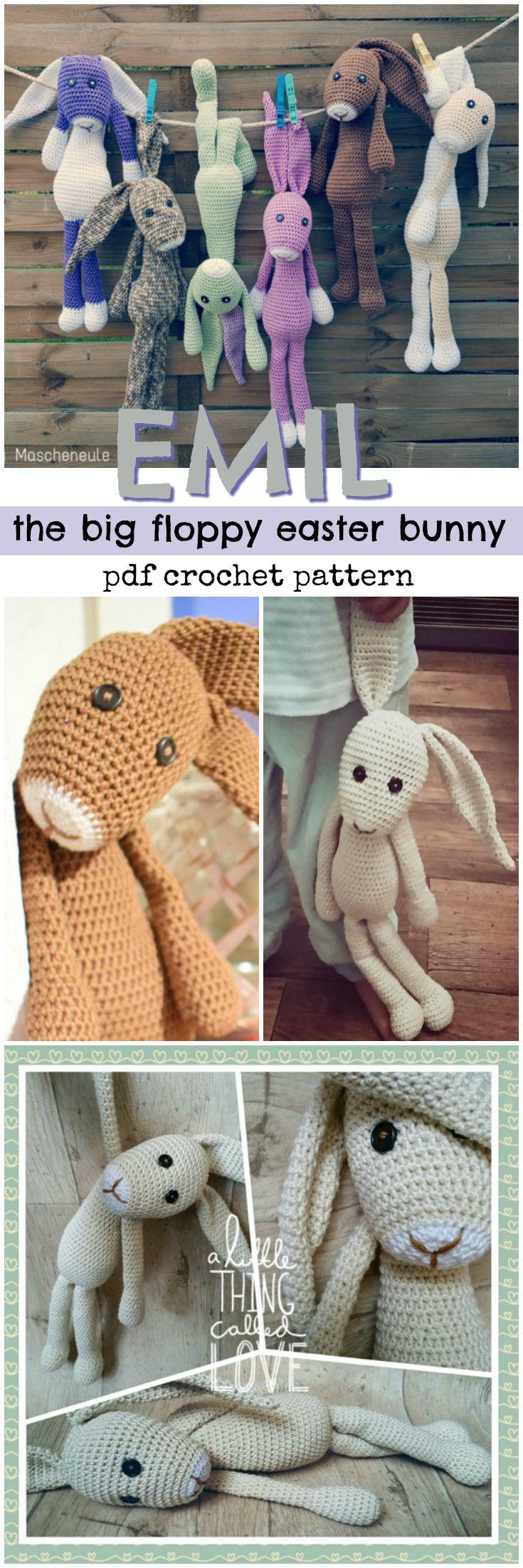Big Floppy Easter Bunny
