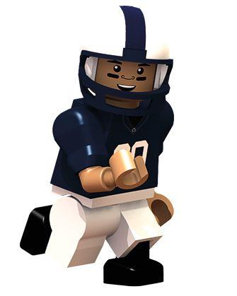 Pennsylvania State University® | Campus Collection Football OYO minifigures