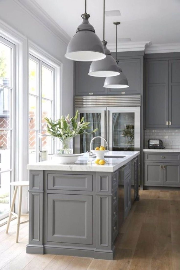 Best  Chalk Paint Kitchen Ideas On Pinterest Chalk Paint - Painting kitchen cabinets gray
