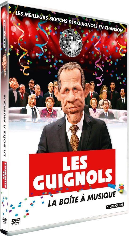Les Guignols de l Info : la boîte à musique - DVD NEUF