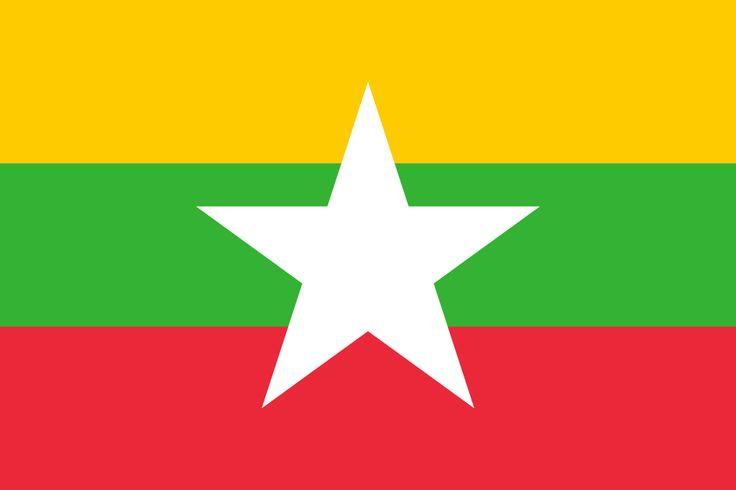 Flag of Myanmar - Myanmar - Wikipedia, the free encyclopedia