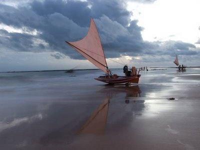 Caponga beach, Ceará, Brazil