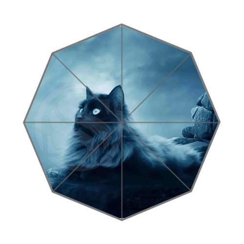 Nighttime Cat Umbrella  -  Shop the Cutest Stuff on Earth: CuteFTW.com