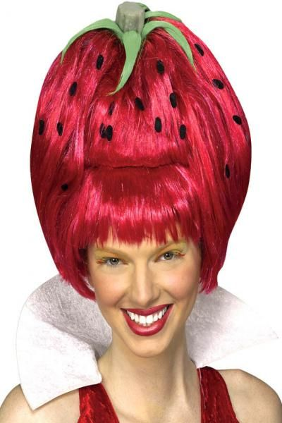 Funny Wigs Fake Hair For A Perfect Face Funny Pictures Wig Ideas Pinterest Wigs Strawberry Shortcake Costume And Strawberry