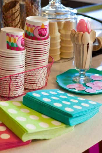 Hostess with the Mostess® - Ice Cream Social Birthday Party