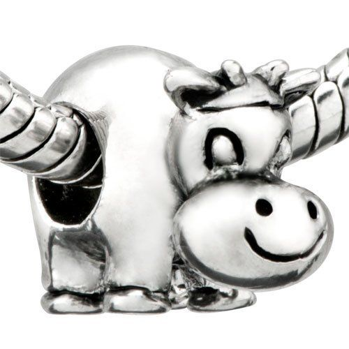 Pugster Cute Cow Beads Fit Pandora Chamilia Biagi Charms Bracelet Pugster. $9.29. Unthreaded European story bracelet design. Fit Pandora, Biagi, and Chamilia Charm Bead Bracelets. Pugster are adding new designs all the time. Free Jewerly Box. Money-back Satisfaction Guarantee. Save 26% Off!