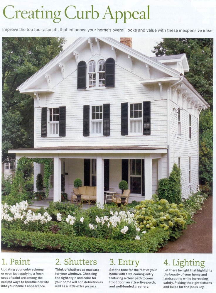 17 best images about curb appeal on pinterest red