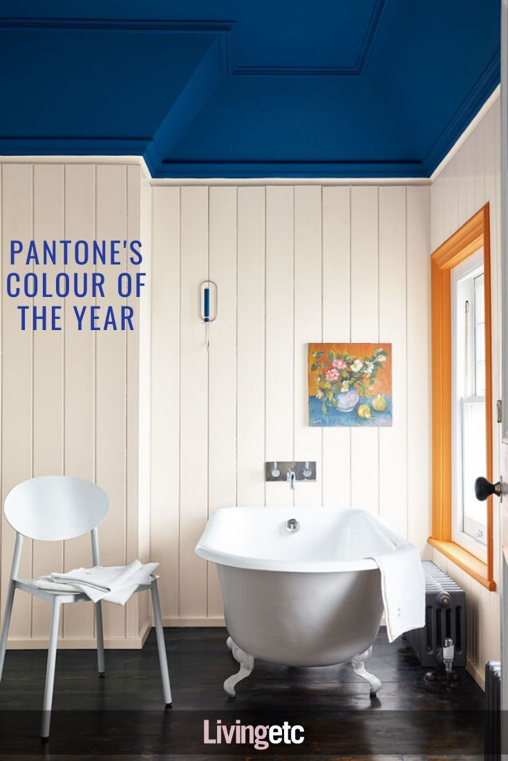 Pantone Reveals Its Colour Of The Year 2020 Livingetc In 2020 Painting Bathroom Painted Ceiling Bathroom Ceiling