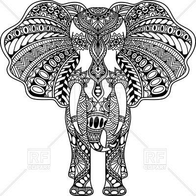 Volwassen Kleurplaten Olifant 17 Best Ideas About Indian Elephant Tattoos On Pinterest