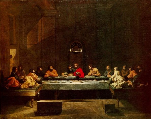 The Last Supper, Nicolas Poussin, 1640's