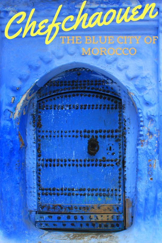 If you're going to Morocco, you can't skip Chefchaouen! The entire old town has been painted in these gorgeous shades of blue!
