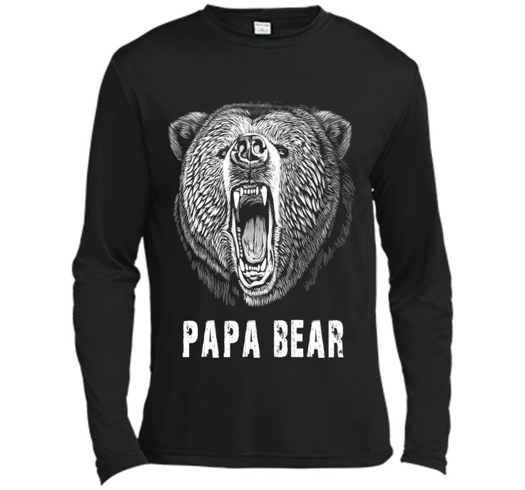 Papa Bear T-shirt Best gift for Dad