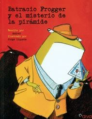 En Ancas City han robado una misteriosa pirámide que concede la suerte al que la posee. Sólo el detective Frogger, Batracio Frogger, podrá descubrir su paradero.  Este es el primer caso del más brillante, audaz y desaliñado detective rana de todos los tiempos.