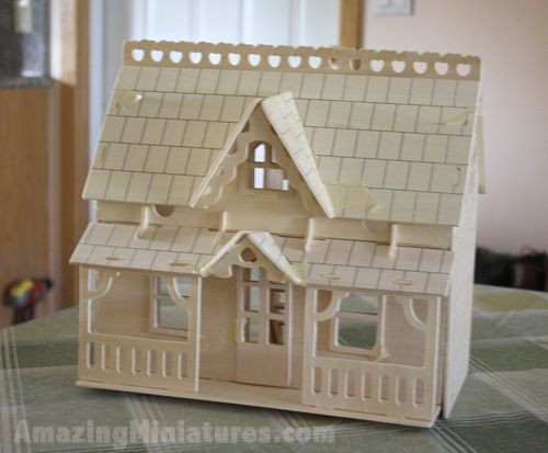 Creatology Dollhouse Veranda and Furniture02 Creatology Dollhouse Puzzle and Furniture Review