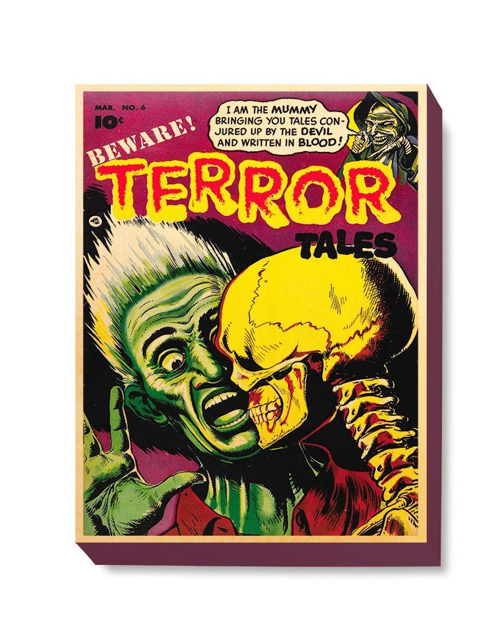 HOR 026 Horror Comic Cover - Terror Tales