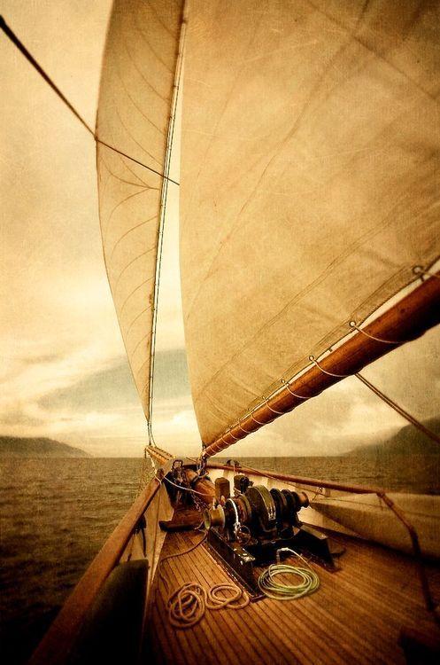 Full sails.