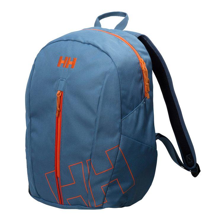 Helly Hansen Aden 2.0 hátizsák, 20 literes űrtartalommal közepes méretű hátizsák, kék / narancs színben. 2016 tavasz / nyár modell. <br />