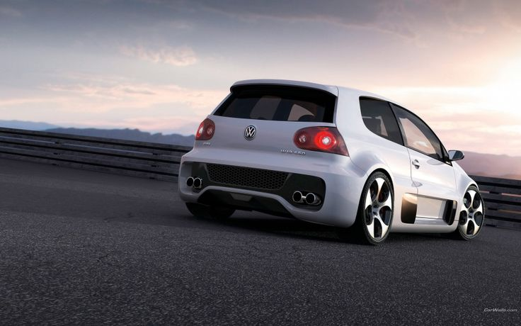 It is completely ridiculous, and you would literally die driving it. Love it. VW Gti W12
