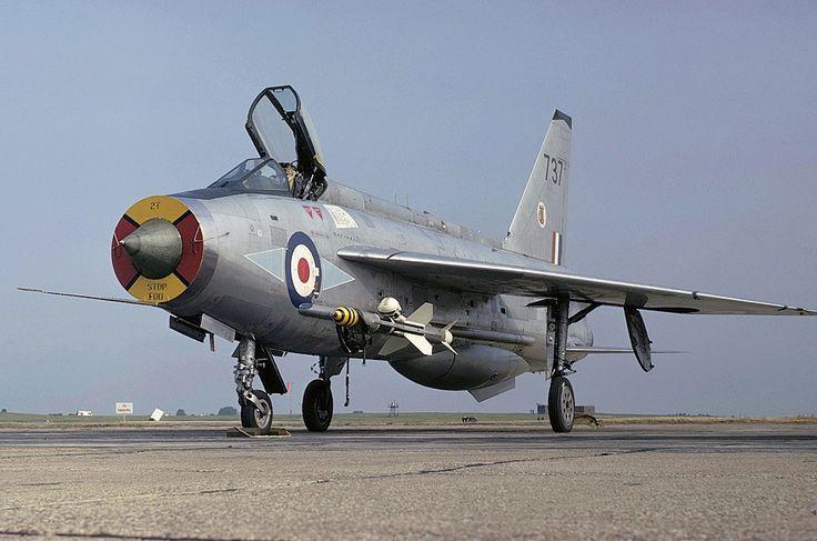 By Stuart Freer: EE Lightning F.3 of 226 OCU @ RAF Coltishall - FighterControl