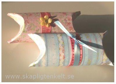 Skapligt Enkelt: Presentförpackning av toalettrullar