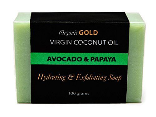 Pure Virgin Coconut Oil Soap with Avocado Oil & Papaya Extract for Face and Body. Deep Moisturizing Beauty Bar Soap. Organic, Natural & Handmade. All Skin Types. Intensely Hydrates & Moisturize. Helps Delay Appearance of Wrinkles & Sagging Skin. - http://essential-organic.com/pure-virgin-coconut-oil-soap-with-avocado-oil-papaya-extract-for-face-and-body-deep-moisturizing-beauty-bar-soap-organic-natural-handmade-all-skin-types-intensely-hydrates-moist/