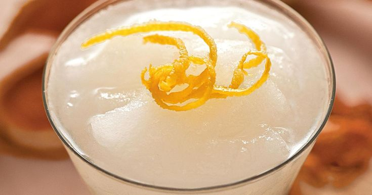 Elegante cocktail from Tony Conigliaro's Drinks. This Sicilian-inspired drink is a more refined and refreshing version of the classic Italian Sgroppino. A wonderful combination of Vodka, lemon juice, lemon sorbet and Prosecco, this elegant summer cocktail has a deli…