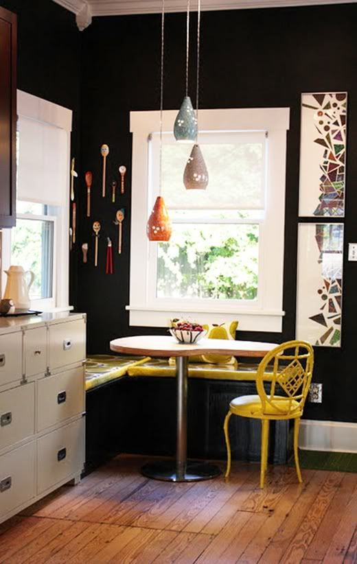 Best Roundhouse Kitchen Sinks Images On Pinterest Kitchen - Breakfast nook wooden cabinets linear kitchen mixer tap yellow chairs