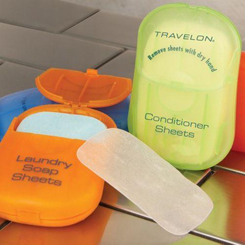 travelon, travel-sheets, sheets-dissolve-in-water, soap, laundry, sabonete, shampoo, sheet, viagem, para-viagem, dissolve-em-agua, por-que-nao-pensei-nisso, pnpn 1