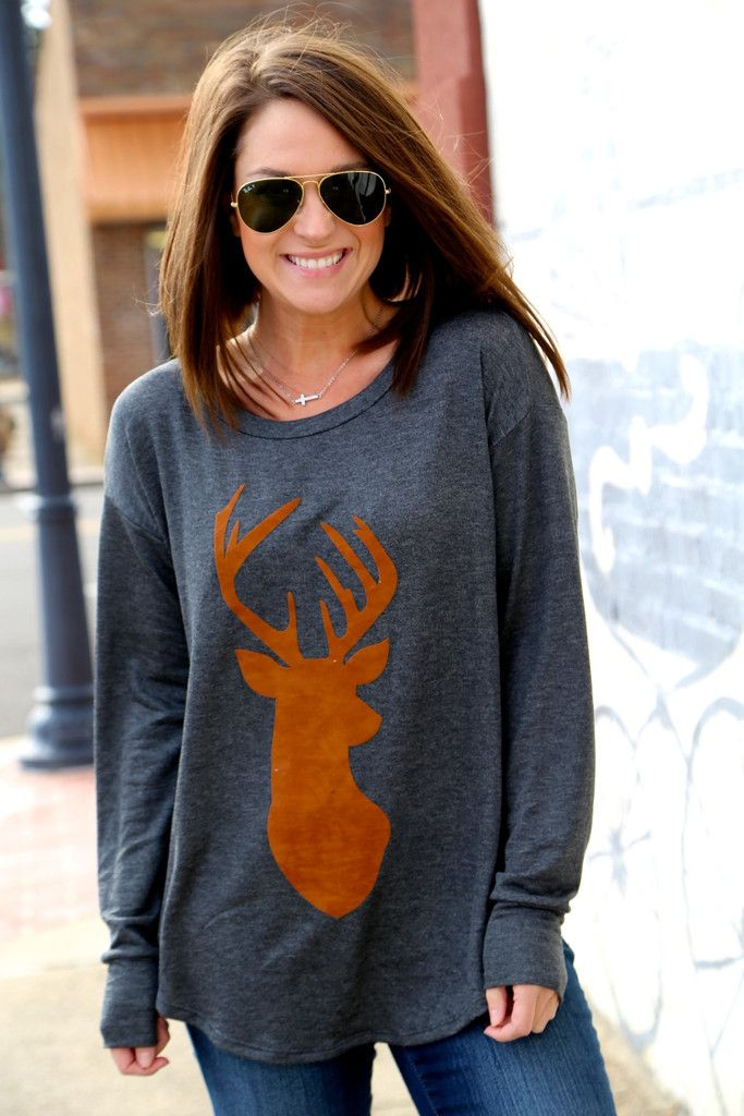 Oh, Deer Long Sleeve Knit