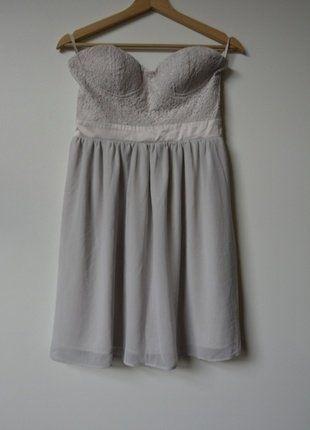 Koronkowa sukienka gorsetowa Bik Bok rozm.38