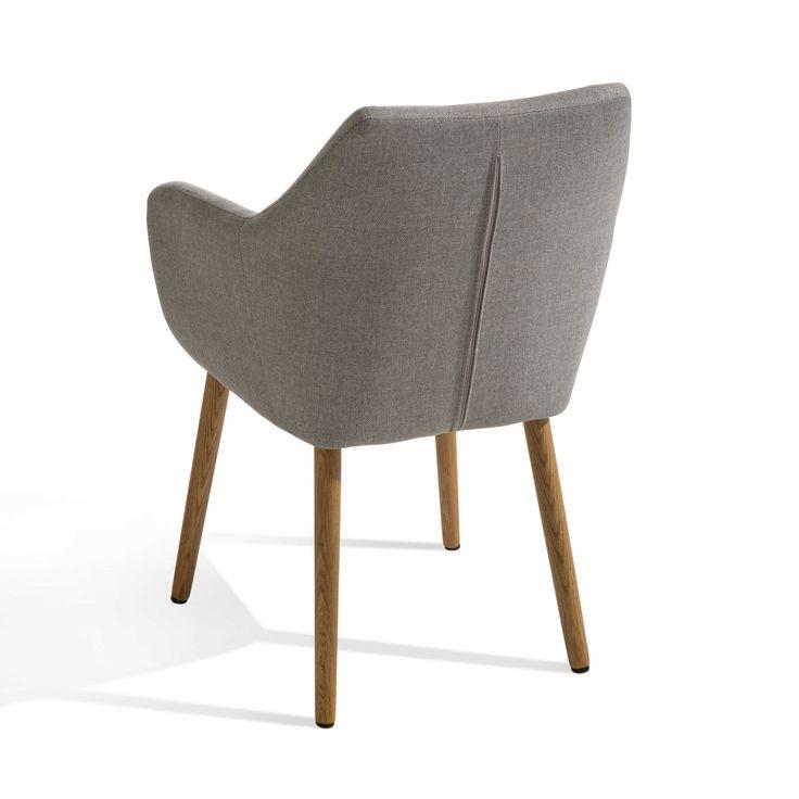 Stuhl Petrulli, Hellgrau   4 Fuß Stühle   Stühle U0026 Freischwinger    Esszimmer   Möbel
