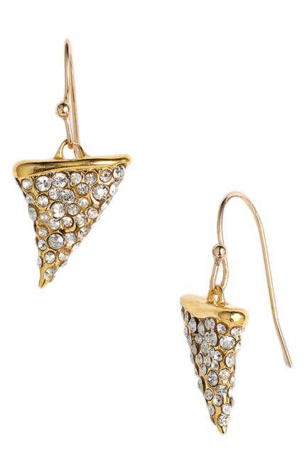 Alexis Bittar thorn-shaped drop earrings #jewelry
