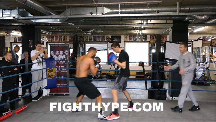 JAMES DEGALE DISPLAY SERIOUS POWER AND SNAP IN HIS PUNCHES AS HE TRAINS FOR BADOU JACK - http://www.truesportsfan.com/james-degale-display-serious-power-and-snap-in-his-punches-as-he-trains-for-badou-jack/
