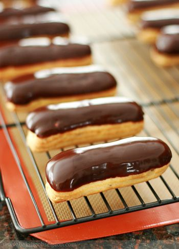 always have a craving for chocolate eclairs, Beard Papa anyone?