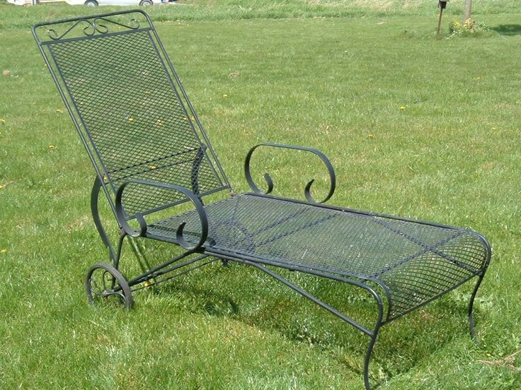 Vintage Woodard Lounge Chair | Vintage Metal Bouncy Chairs And Patio  Furniture | Pinterest | Lounge Chairs, Lounges And Chairs
