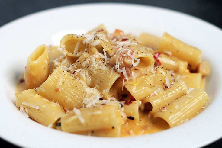 Andrew Zimmern's Pasta Carbonara